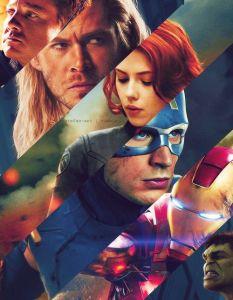 Avengers Faces