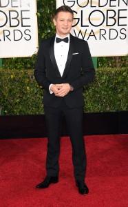 Jeremy Renner 2015 Golden Globes