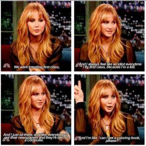 Jennifer Lawrence Interview