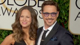 RDJ and Wife Susan