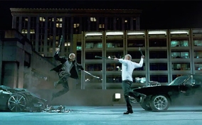 Toretto vs. Shaw Fight