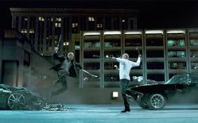 Toretto vs. Shaw Fight