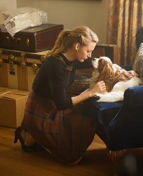 Adaline and Puppy