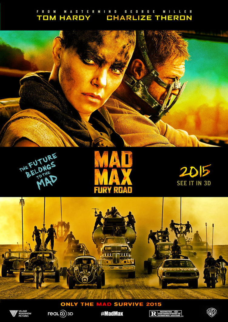 Mad max fury road fanart poster