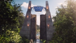 Jurassic World Entrance
