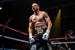 JAKE GYLLENHAAL stars in SOUTHPAW. Photo: Scott Garfield © 2014 The Weinstein Company.  All Rights Reserved.