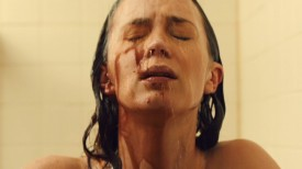 Emily Blunt Washing Off Blood