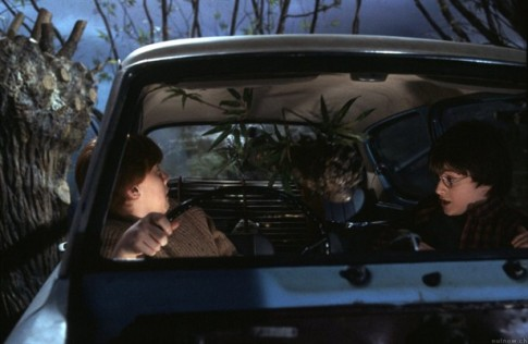Car vs. Whomping Willow