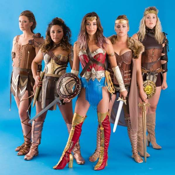Wonder Woman & Amazons - Brit + Co